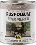 Rust-Oleum Hammered Metal Finish Paint Colors