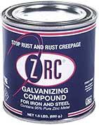 ZRC 10001 Cold Galvanizing Compound