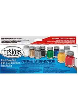 Testors Enamel Paint Set