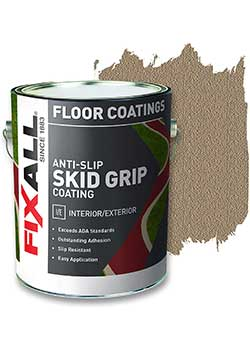 FIXALL Textured Coating - Best for Painting Old Wood Floor