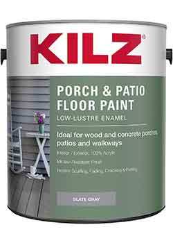 KILZ Interior Exterior Porch & Patio Latex Floor Paint