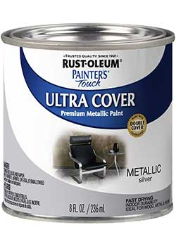 Rust-Oleum Painter's Touch Satin HP Interior Paint for Wood Shelves