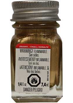 Testors Null 1144TT Gold Paint for Jewelry