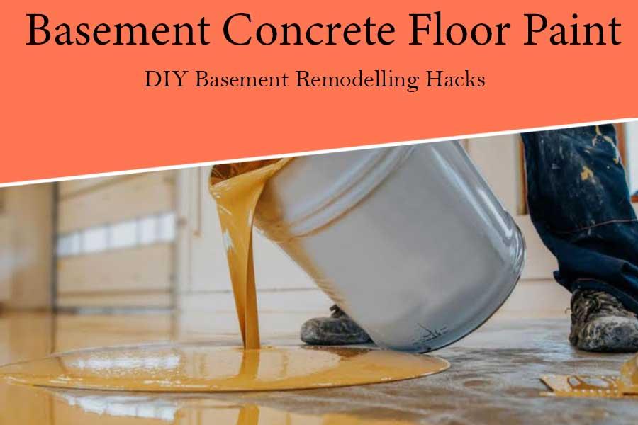 Perfect Basement Concrete Floor Paint