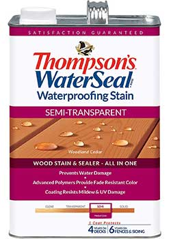 THOMPSONS WATERSEAL and Stain