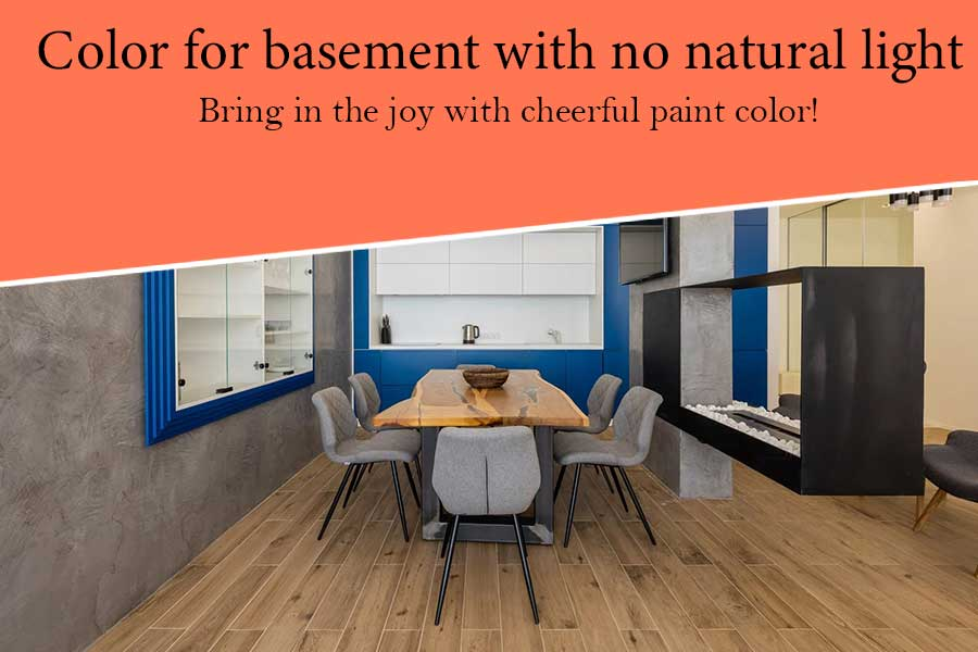 8 Ideas Paint Color for Basement with No Natural Light