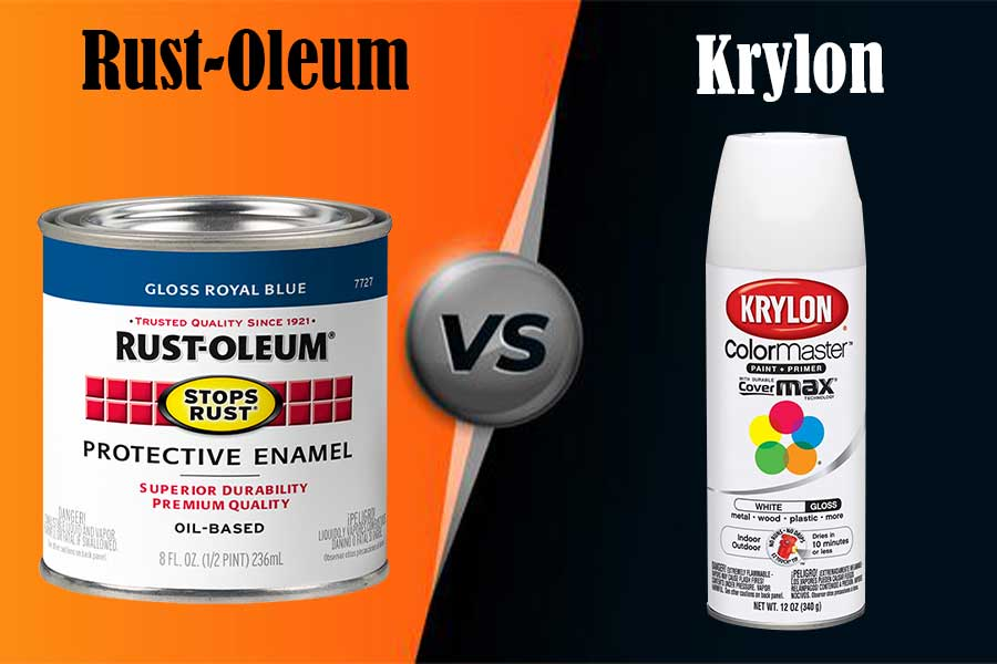 Rustoleum vs Krylon: Things You Should Know Before Picking the Paints