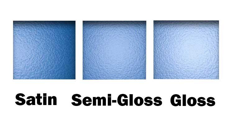 Satin vs Semi-Gloss vs Gloss Finish