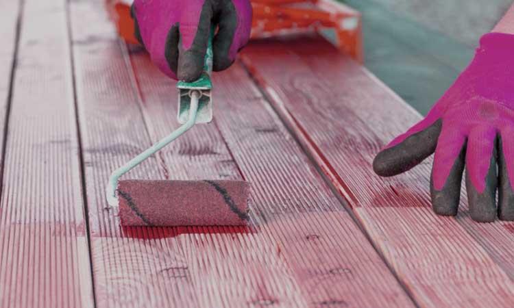 Waterproofing Paint for Wood