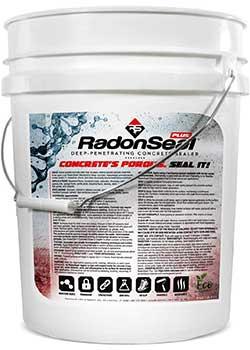 Basement Waterproofing RadonSeal Deep Penetrating Concrete Sealer