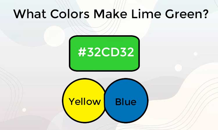 How to Make Lime Green Paint?